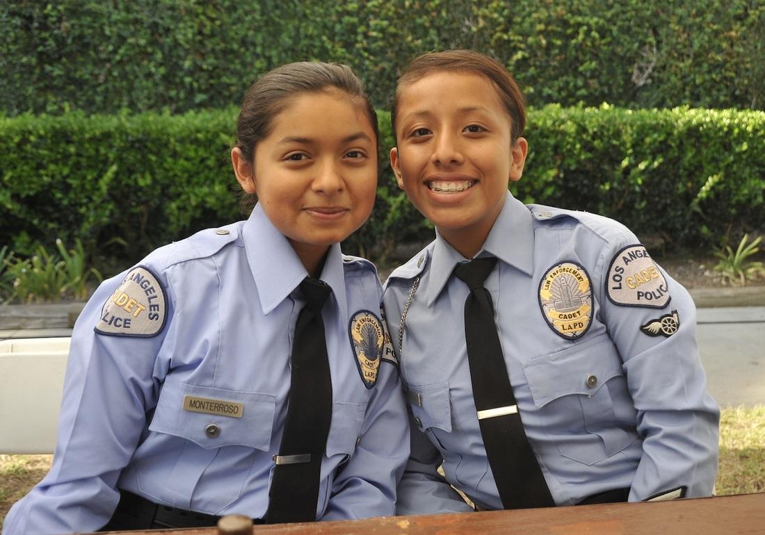 Become a Junior Cadet or Cadet - WILSHIRE COMMUNITY POLICE COUNCIL